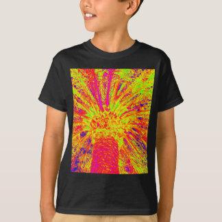 palma fluorescente camiseta