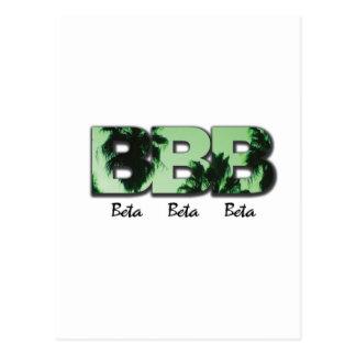 Palmas verdes beta beta beta postal