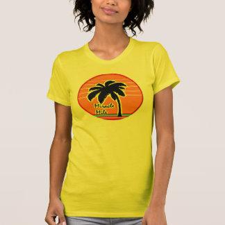 palmera 80s del sol camiseta