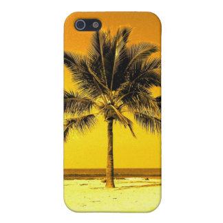Palmera de Hawaii iPhone 5 Cárcasa