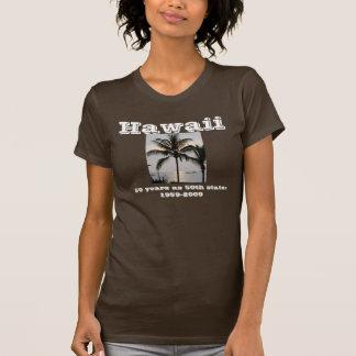 Palmera hawaiana camisetas