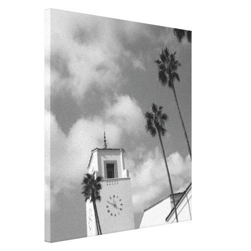 Palmeras en Los Ángeles Lienzo Envuelto Para Galerias