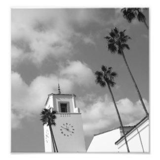 Palmeras en Los Ángeles Impresion Fotografica