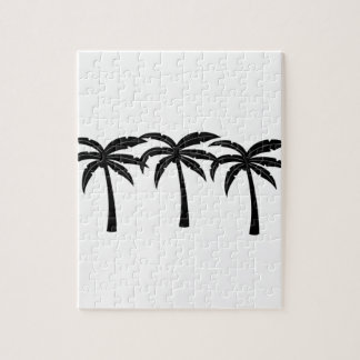 Palmeras tropicales puzzle