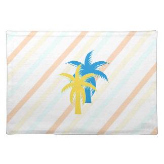palmeras tropicales salvamanteles