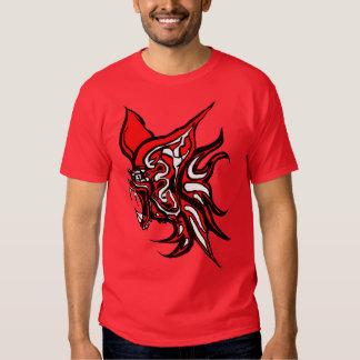 Palo-Camiseta Camisa-Rd del vampiro Camisas