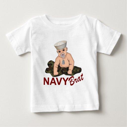 Palo de golf de la marina de guerra camisetas