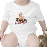 Palo de golf de la marina de guerra traje de bebé