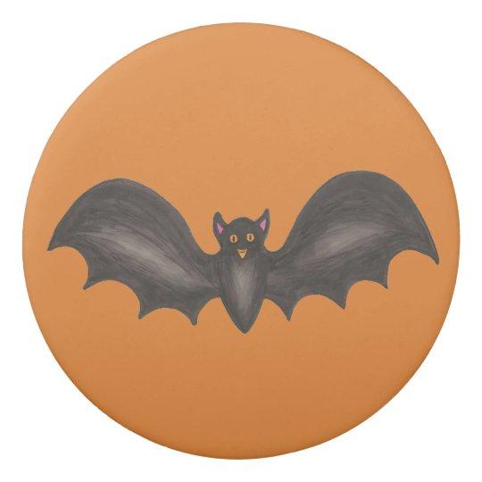 Palo fantasmagórico negro anaranjado Halloween del Goma De Borrar