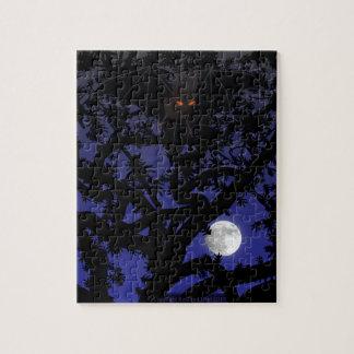 Palo Rojo-Observado en árbol Puzzle