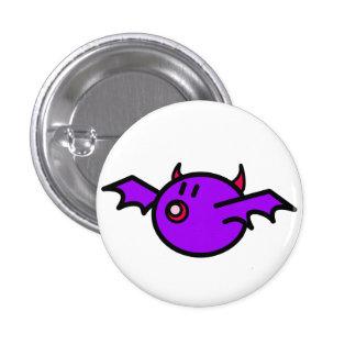 Palo violeta (fondo blanco) chapa redonda de 2,5 cm