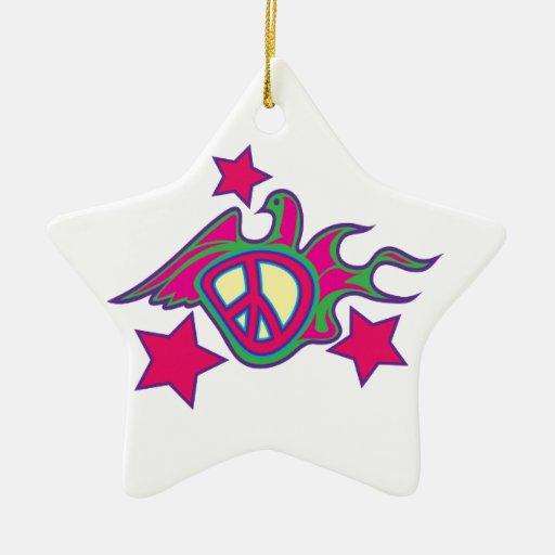 Paloma de la paz ornamentos para reyes magos