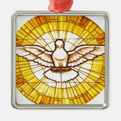 Paloma del amor y de la paz ornatos
