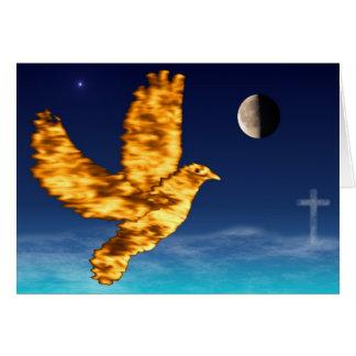 Paloma del Espíritu Santo - 4:7 de Phil del cielo Tarjeta De Felicitación