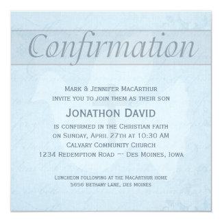 Paloma del Espíritu Santo de la confirmación y Invitación 13,3 Cm X 13,3cm
