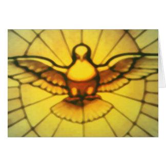 Paloma del Espíritu Santo Tarjeta