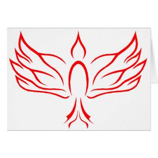 Paloma del Espíritu Santo Tarjeta De Felicitación