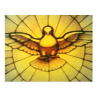 Paloma del Espíritu Santo Tarjeta Postal