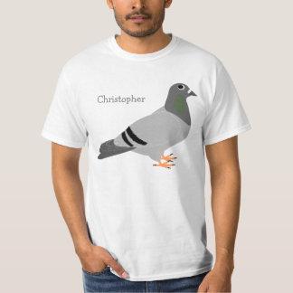 Paloma personalizada camiseta