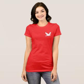 Paloma que vuela camiseta