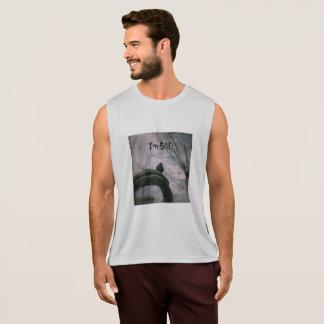 Paloma triste camiseta de tirantes