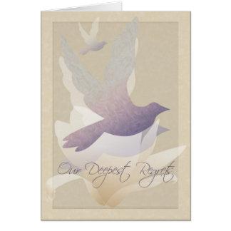 Palomas de la magnolia - nuestros pesares más prof tarjetón