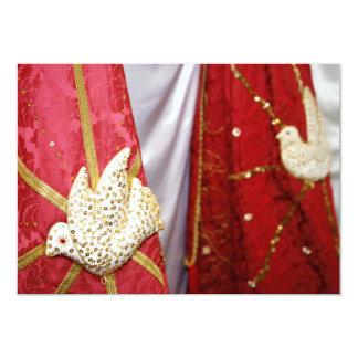 Palomas del Espíritu Santo Invitación 12,7 X 17,8 Cm
