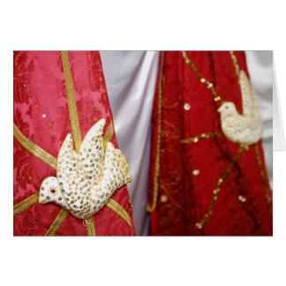 Palomas del Espíritu Santo Tarjeta De Felicitación
