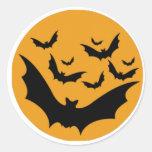 Palos de Halloween Etiquetas