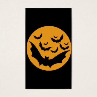 Palos de Halloween Tarjeta De Negocios