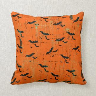Palos negros de las almohadas de tiro de Halloween