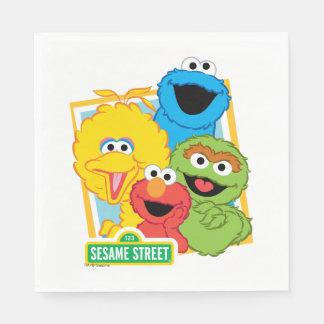 Pals del Sesame Street Servilletas Desechables