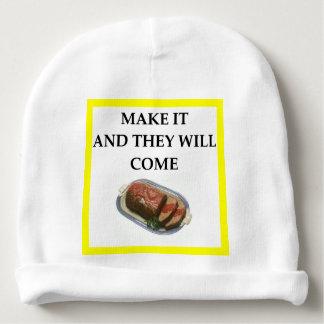 pan con carne gorrito para bebe