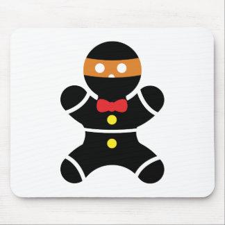Pan de jengibre Ninja 2a Alfombrilla De Ratón