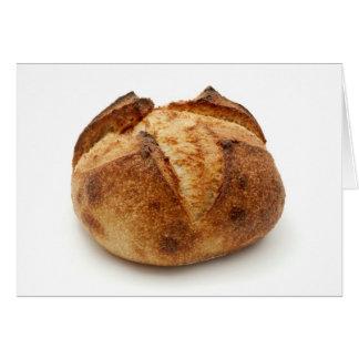 Pan hecho en casa tarjeton