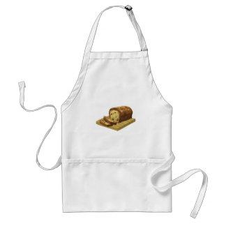 Pan ostentoso del calabacín de la comida de la delantal