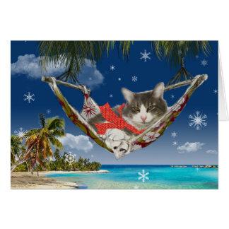 Pana en el Caribe, tarjeta de felicitación del día