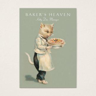 Panadería, chef de repostería, panadero, tarjeta de negocios