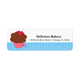 Panadería de la magdalena etiquetas de remite