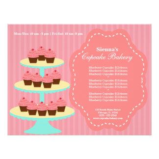 Panadería de la magdalena folleto 21,6 x 28 cm