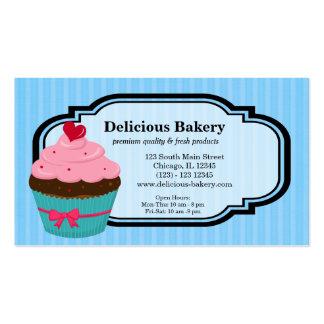 Panadería de la magdalena tarjetas de negocios