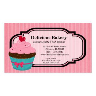 Panadería de la magdalena tarjeta de visita