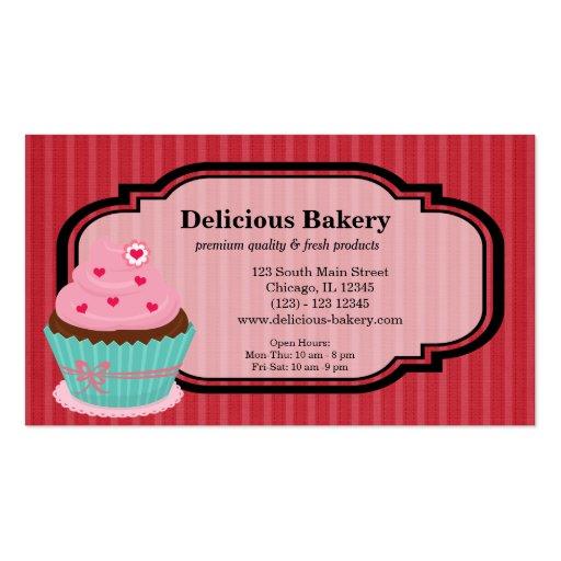 Panadería de la magdalena tarjetas personales