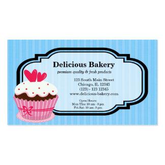 Panadería de la magdalena plantillas de tarjetas personales