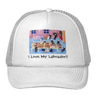 Panadería de Labradors Gorros Bordados
