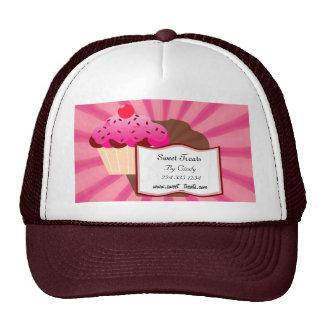 Panadería dulce de la magdalena gorras