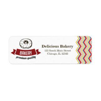Panadería Etiqueta De Remite