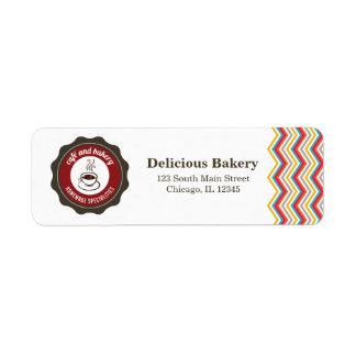 Panadería Etiqueta De Remitente