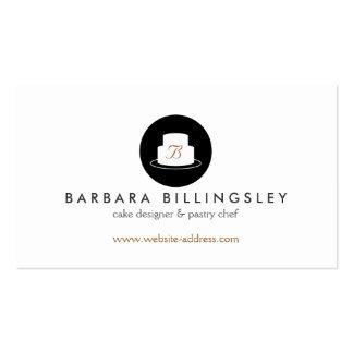 Panadería I del logotipo del emblema de la torta Tarjetas De Visita
