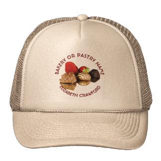 Panadería o tienda de la torta de los dulces de gorro
